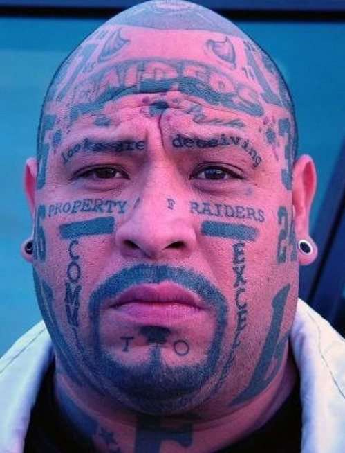 tattoos diego in tribal san The Tattoos  Snark Daily  NFL Worst Fan
