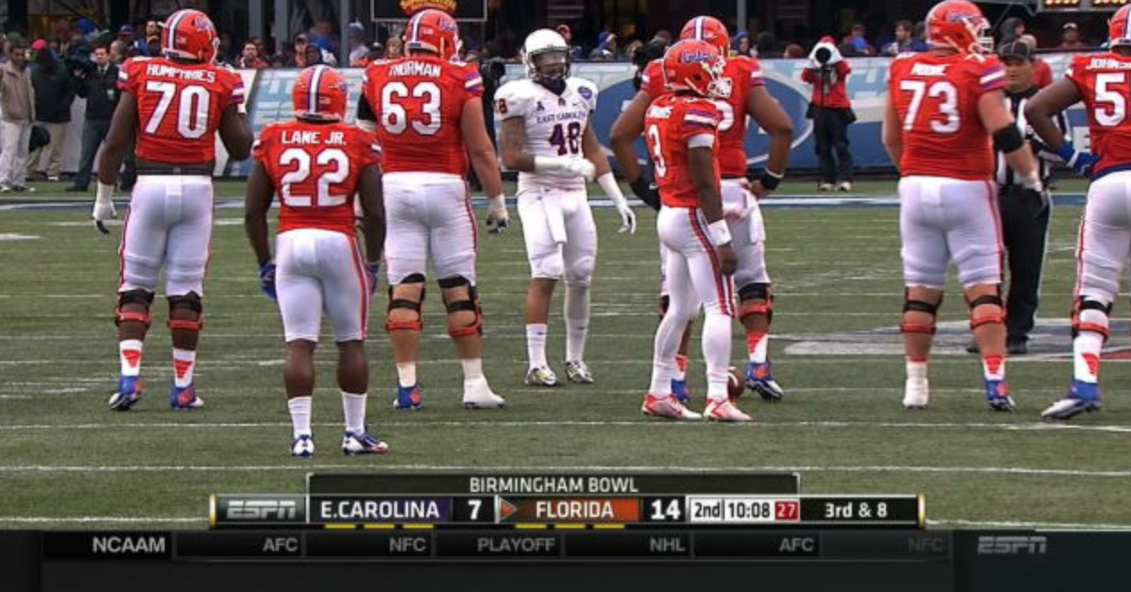 Florida Rb Shits His Pants After Scoring A Touchdown Daily Snark