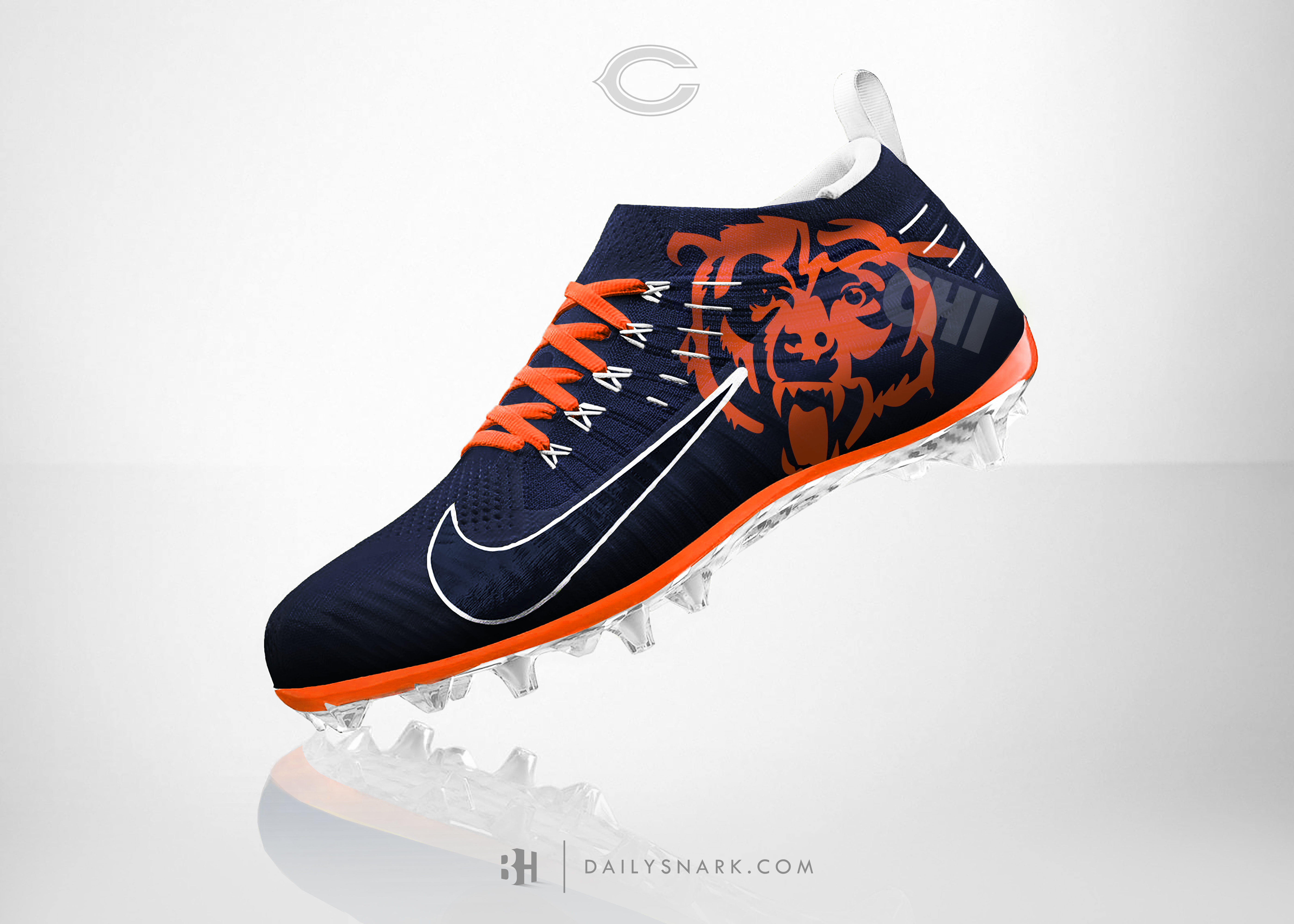 Chicago Bears Nike Shoes