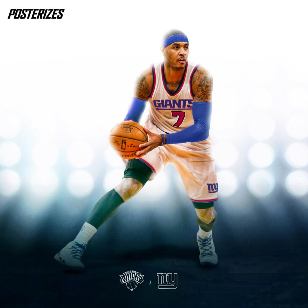 Nba: Designers Create Awesome NBA Player X NFL Team Mashup