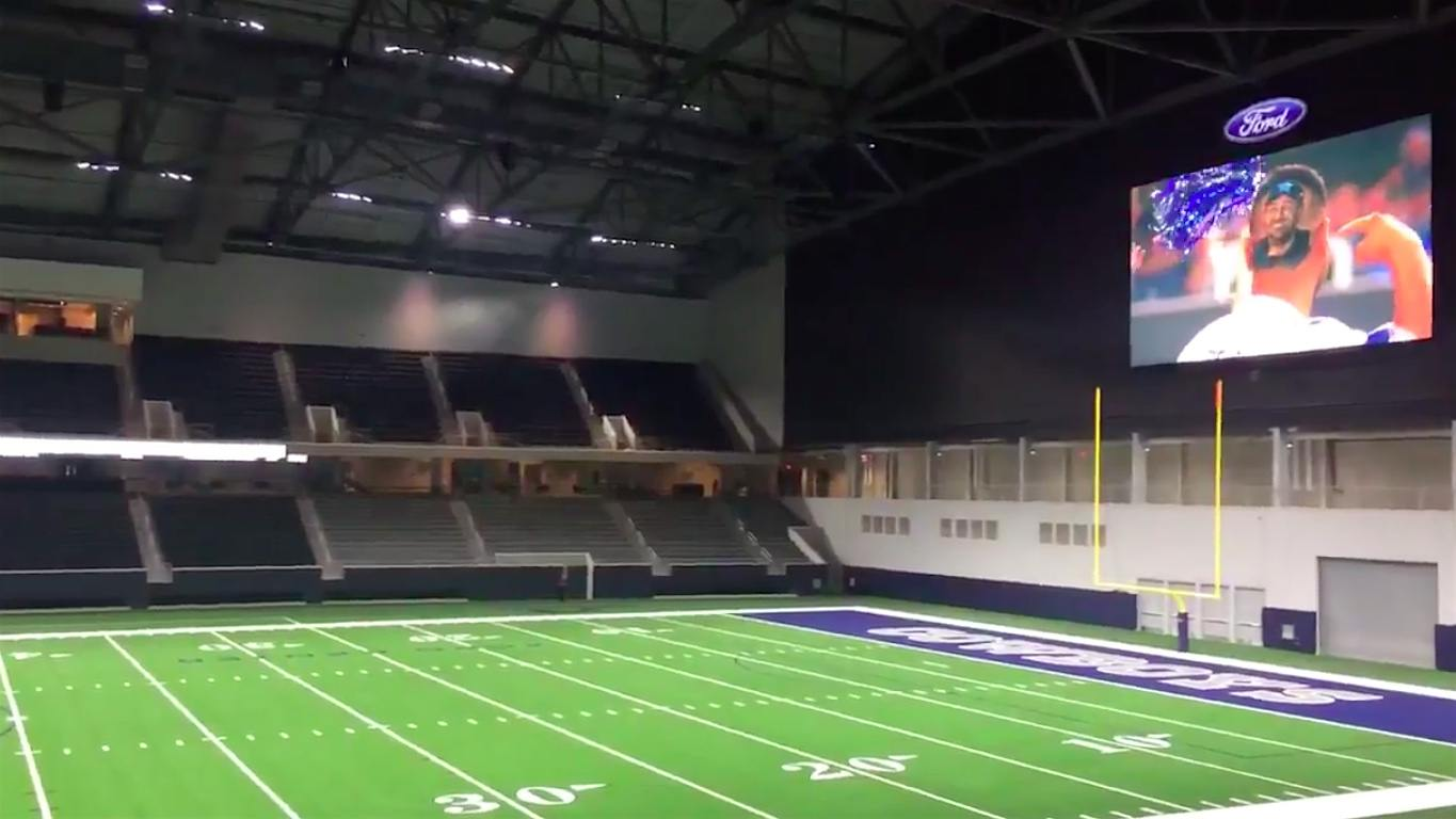 The cowboys new practice facility is literally a mini nfl stadium daily snark
