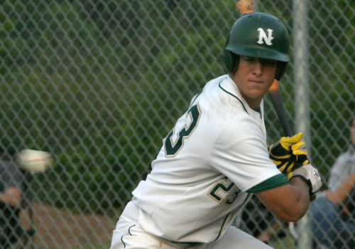 05/11/05......Gary Wilcox/staff.....Nease High School Baseball player Tim Tebow (23) at the Champinship game at Nease High School last Tuesday. Nease won 6 to 1.
