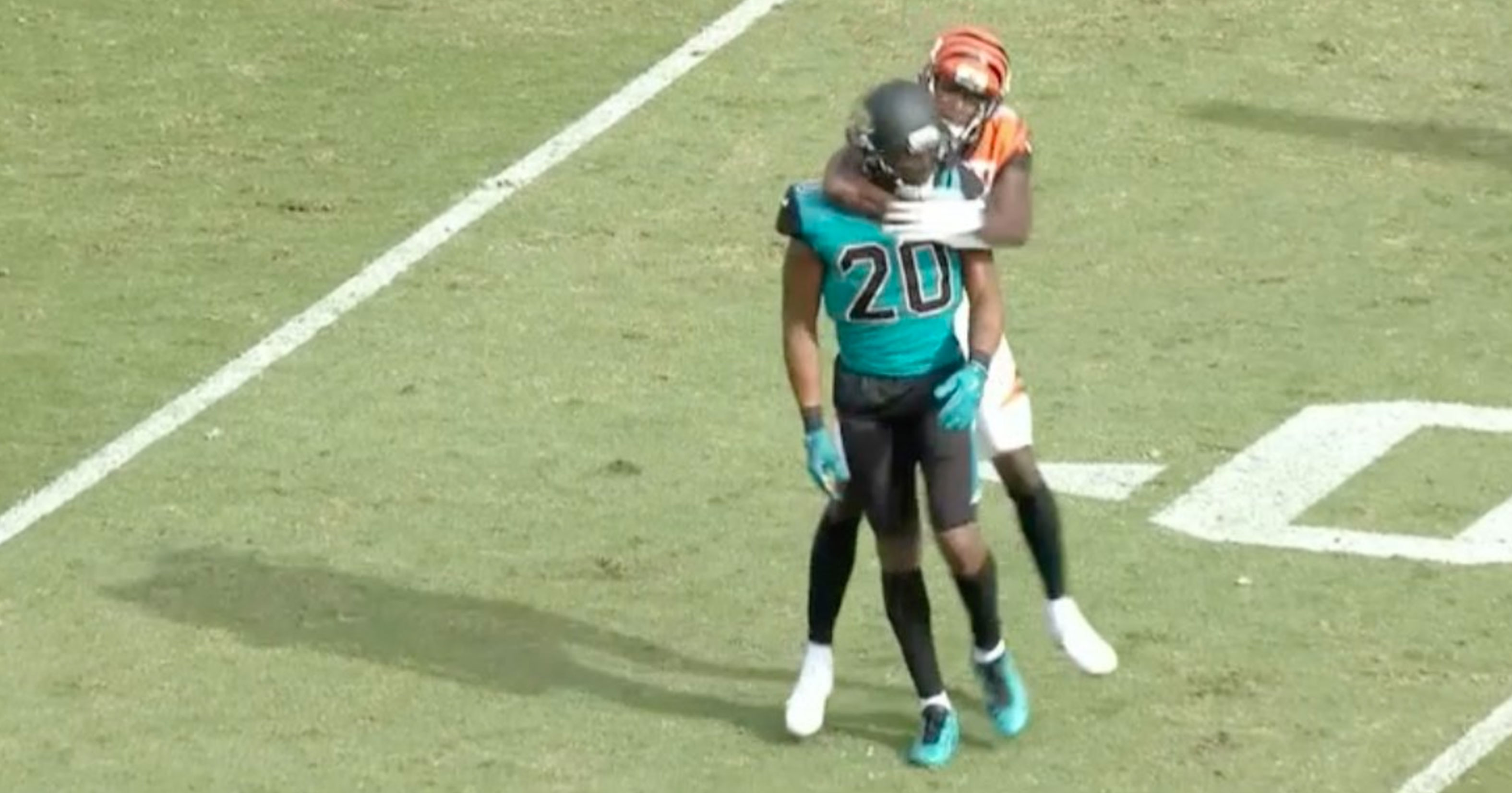 AJ Green Ejected For Putting Jalen Ramsey In Chokehold & Punching