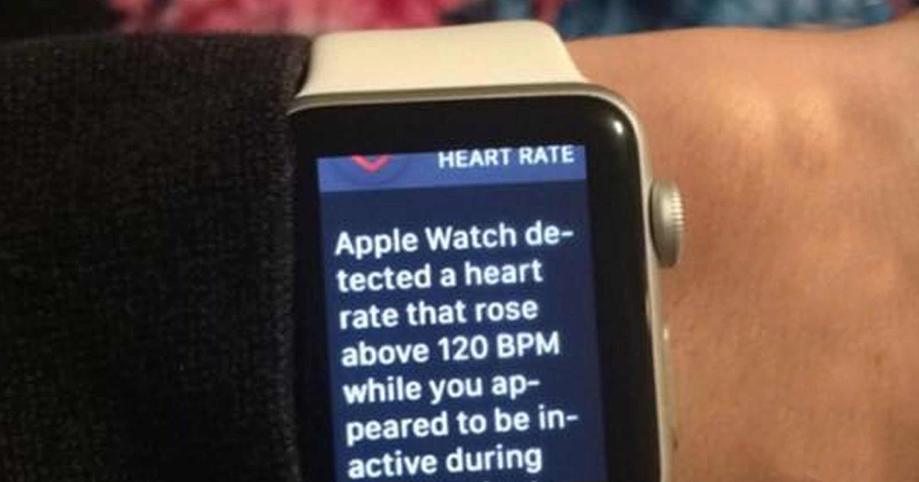 Vikings Fans Wearing Apple Watches Were Notified That They