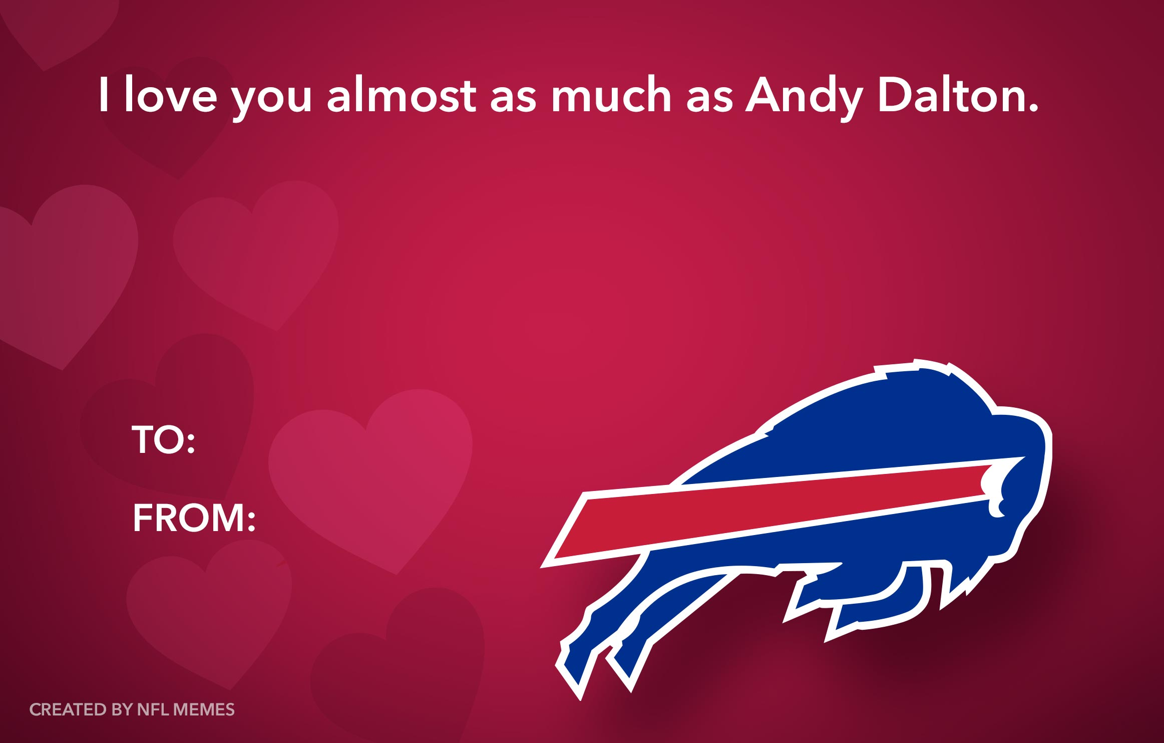 Here S This Year S Batch Of Hilarious Nfl Themed Valentine S Day
