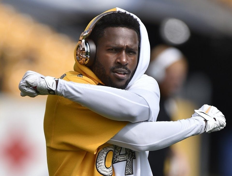 REPORT: Antonio Brown Didn't Show Up For Work On Monday