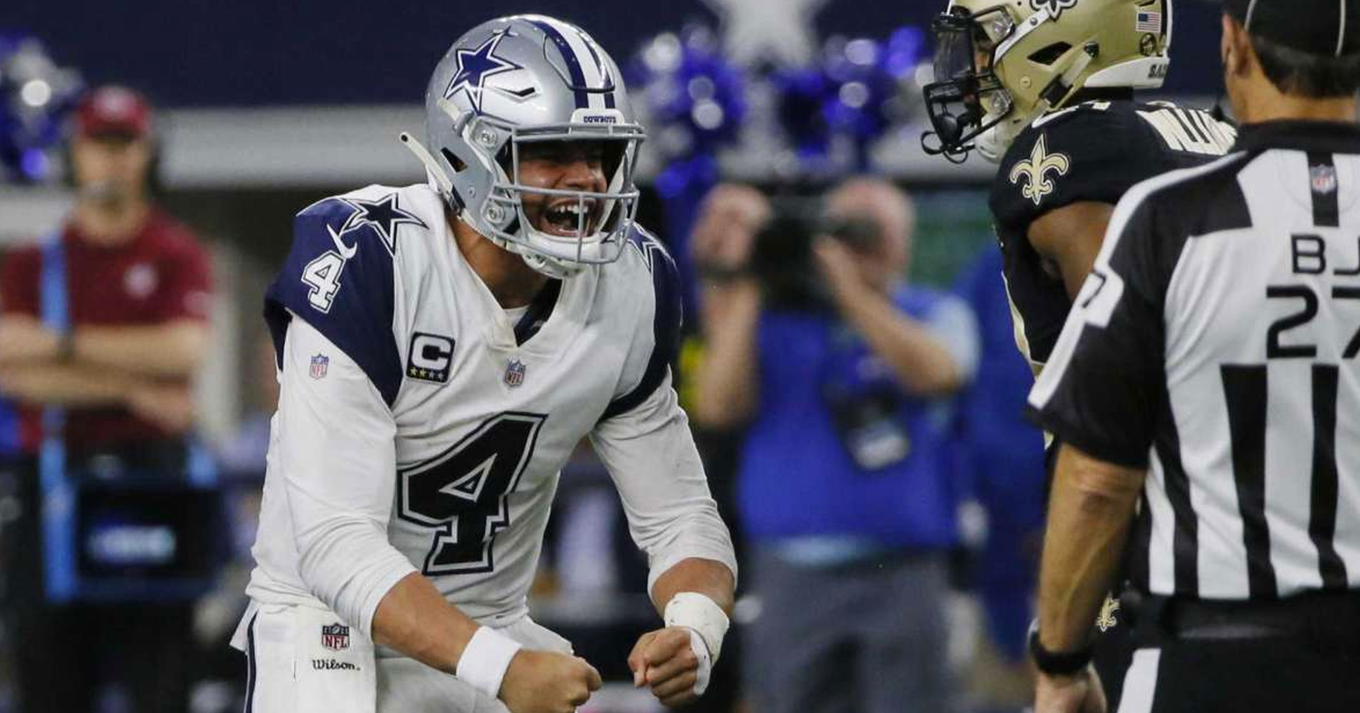 Cowboys Vs Saints Finishes As Most Watched Nfl Game In Thursday