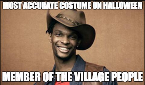 Chris Bosh's Halloween Costume