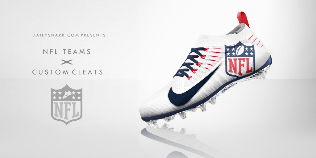 Designer Creates Awesome Custom Cleat Designs For All 32 NFL