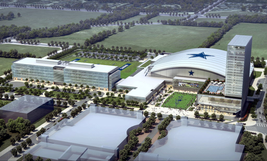 Cowboys New Mega Practice Facility To Cost More Than Their ...
