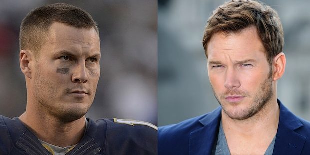 Chargers QB Philip Rivers - Chris Pratt