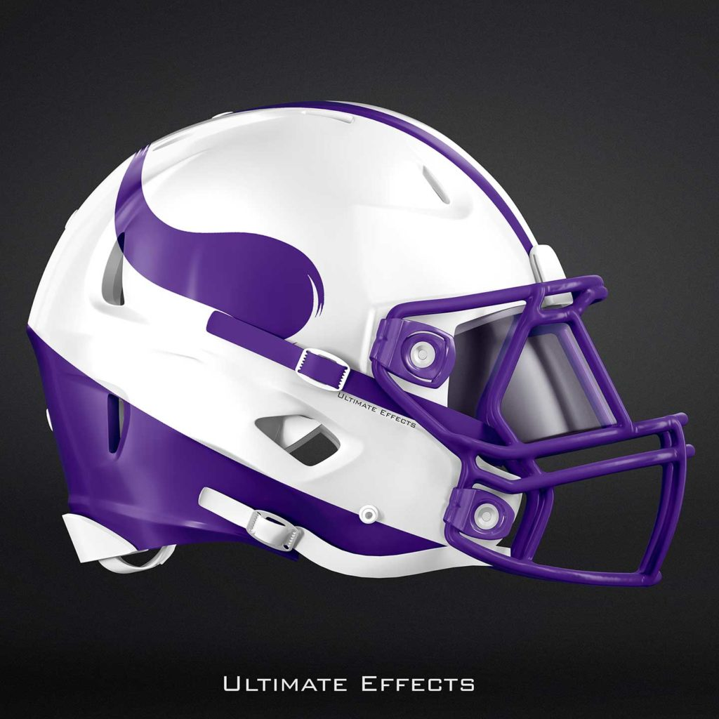 Williams College Football >> Designer Creates Awesome Concept Helmets For All 32 NFL ...