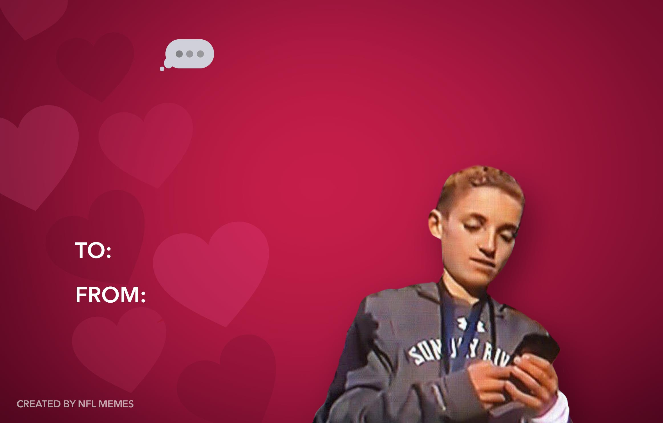 Here S This Year S Batch Of Hilarious Nfl Themed Valentine S Day Cards Pics