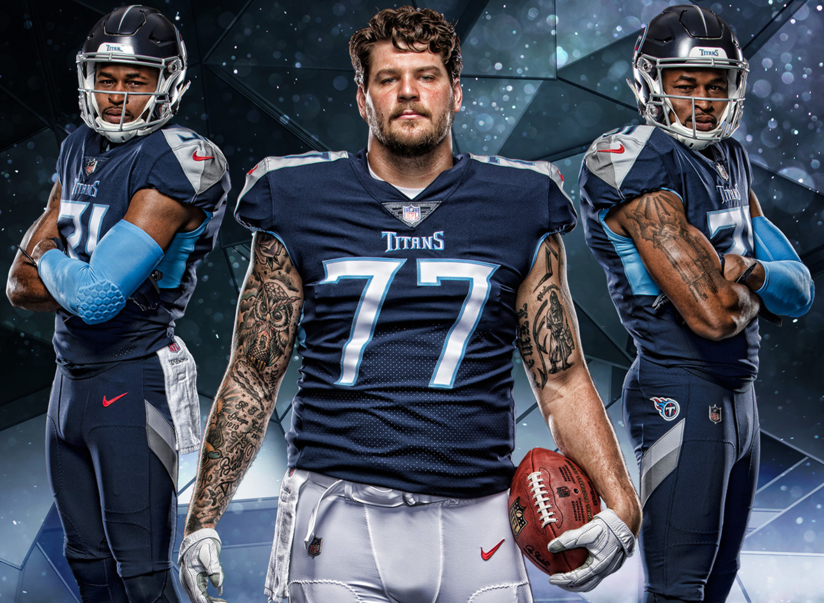 meet dad49 37a9b BREAKING: Tennessee Titans Officially Unveil New Uniforms (PICS)