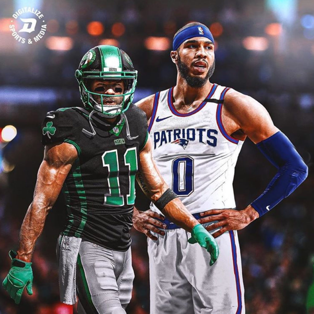 Designer Swaps NFL & NBA Teams' Jerseys & The Results Are Awesome ...